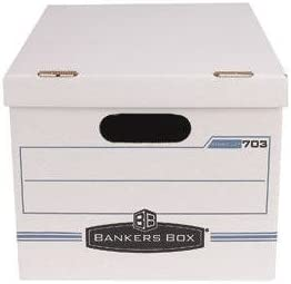 Fellowes Bankers Box Stor//File Corrugated File Storage Boxes Model 703 20//Pack