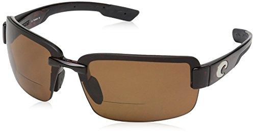 Costa Del Mar Galveston C-Mate 1.50 Sunglasses, Tortoise, Copper 580P ()