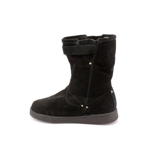 New Ladies Earra Shoes M Mid 5 Fisher Marc Calf Black Boots rpw4r