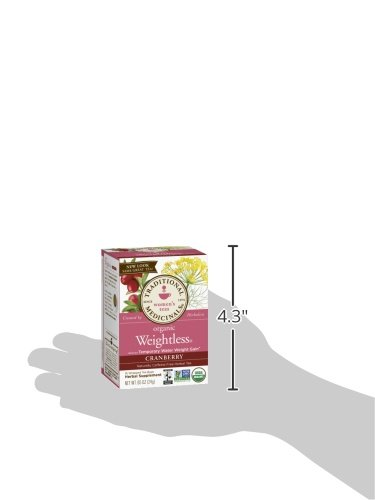 Traditional Medicinals Organic Weightless Cranberry Women's Tea, 16 Tea Bags (Pack of 6) by Traditional Medicinals (Image #9)