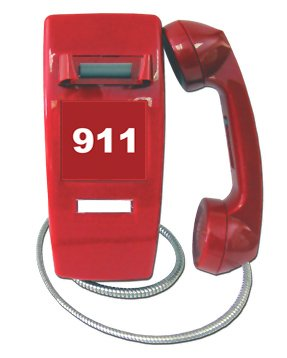 Emergency Handset Phone (Armor Cord)