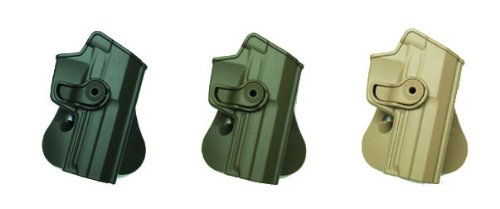 Concealed Carry Pistol Hand Gun Polymer Retention Roto Holster Fits Heckler and Koch USP 45 Full-Size Black IMI RSR Defence Gun / Pistol Holster (Heckler And Koch Usp 45 For Sale)