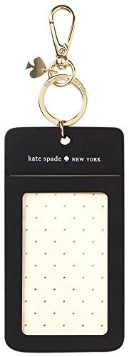 the best attitude 1fb37 bf1c8 Kate Spade New York Women's Id Clip, Black Dot