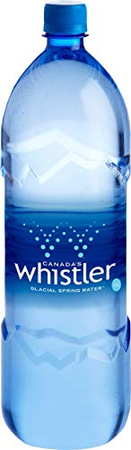 WHISTLER 100% PURE CANADIAN GLACIAL ARTESIAN SPRING WATER 33.8 OZ (Pack of 12)