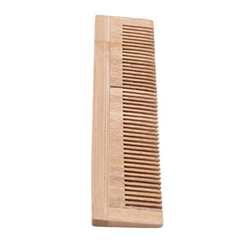 LZIYAN Bamboo Disposable Comb Hotel Hair Comb Fine Tooth Detangling Tool Hair Care Accessories by LZIYAN (Image #1)