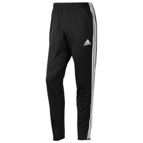 adidas Men's Tiro 11 Pant, Black/White, Large