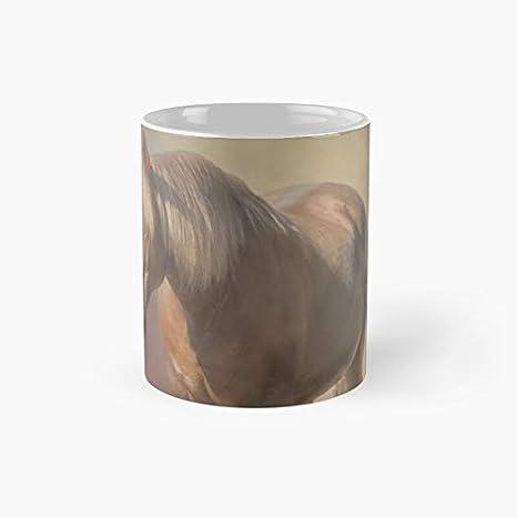 Hermosa taza clásica de caballo de Criollo | el mejor regalo divertidas tazas de café de 325 ml