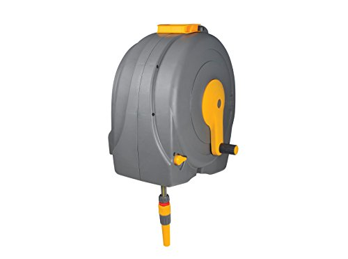 Hozelock Wall Mounted Fast Reel, 40m