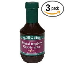 Fischer & Wieser Chipotle Sauce, Rst Rspbry, 15.75-Ounce (Pack of ()