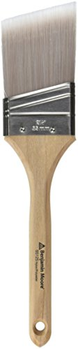 Wooster Brush Company 205921 Benjamin Moore Paint Brush Polyester Angle (Moore Paint)