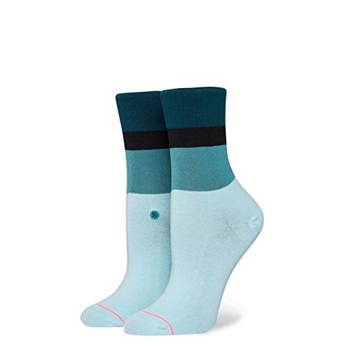 Stance Womens Stacked Cara Socks Blue Womens One Size ()