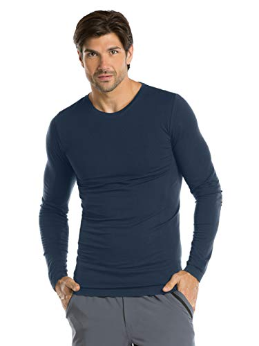 (Barco One 0305 Men's Knitted Tee Steel M)