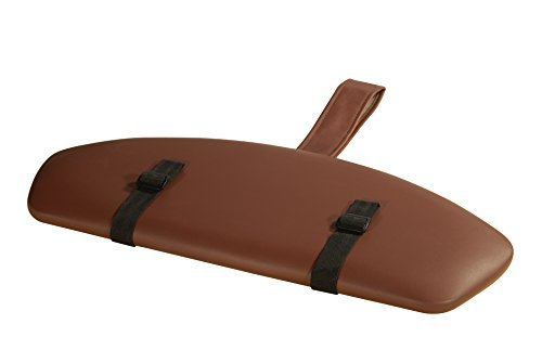 Mt Massage Standard Armrest Support for Massage Table, Chocolate by Mt Massage Tables
