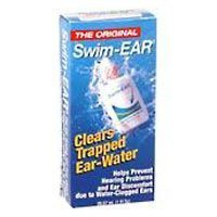 Swim Ear Clears Trapped Ear - Water Drying Aid - 1 Oz (29.57 Ml)/ pack, 2 pack (Drops To Get Water Out Of Ear)