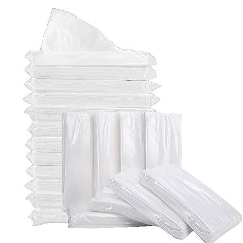 Car Tissue Refill, Disposable Facial Tissues, Disposable Face Towel, Facial Tissues Travel Size Pack for Car or Purse, 20 Packets, 600 Sheets, Soft and Comfortable
