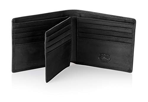 Stealth Mode Leather Bifold