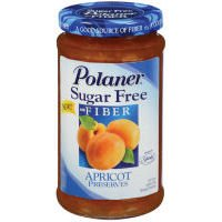 (Polaner Sugar Free with Fiber, Apricot Jam, 13.5)