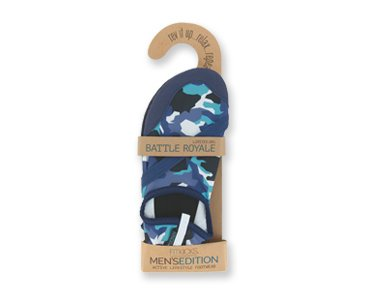 FitKicks MEN's Active Lifestyle Footwear LIMITED.001 EDITION Battle Royale - Blue Camo 5WiEBRmI