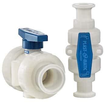 Sanitary Plastic Ball Valve, 2-Way, 3/4
