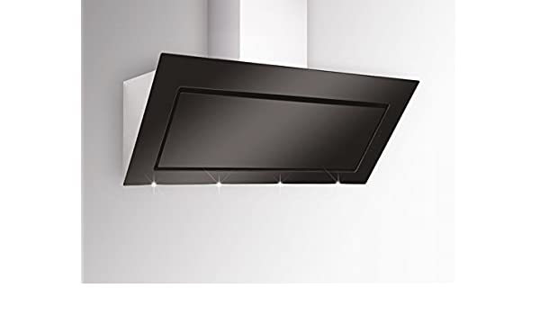 Silverline Pegasus Premium PGW 194.1 S/pared Campana/acero inoxidable/cristal/negro/120 cm/cabeza libre/A +: Amazon.es: Grandes electrodomésticos