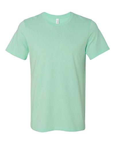 Bella+Canvas Unisex Jersey Short-Sleeve Crewneck T-Shirt, X-Large, Mint