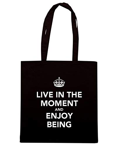 MOMENT ENJOY Borsa AND AND LIVE TKC0367 BEING Nera IN CALM KEEP Shopper THE wSUZzrwqPn