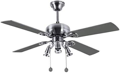 Ventilador de techo con tres focos modelo GALERNA, Fabrilamp.: Amazon.es: Iluminación