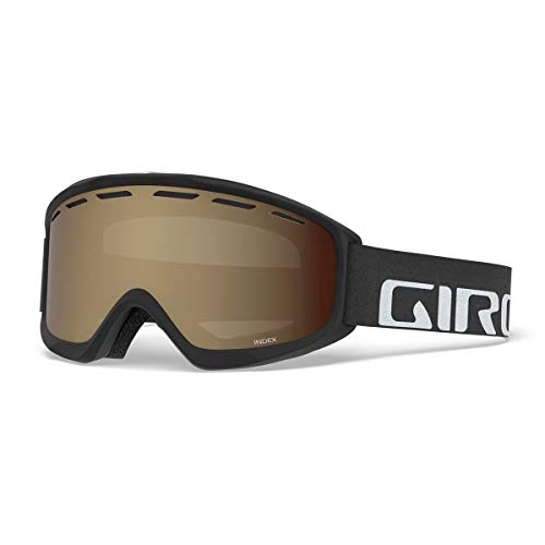 c1c6df6776a8 Giro Index OTG Snow Goggles Black Wordmark - Amber Rose