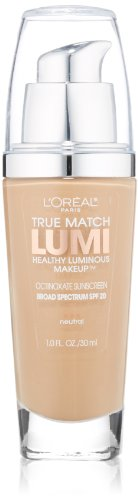 L'Oréal Paris True Match Lumi Healthy Luminous Makeup, N4 Buff Beige, 1 fl. (Beige Loreal True Match)