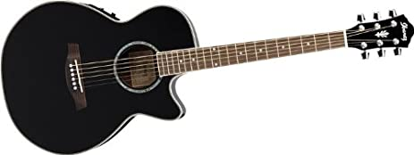 Amazon Com Ibanez Aeg10e Aeg Series Acoustic Electric Guitar