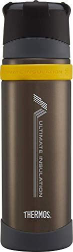 Thermos Ultimate Series Flask, Charcoal, 500 ml