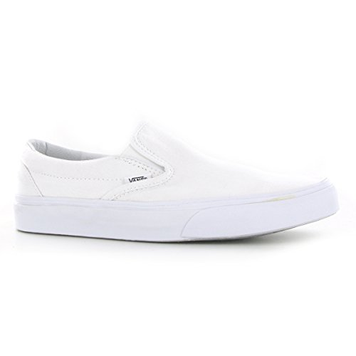 Vans Classic Slip On, True White, 8.5 B(M) US Women's / 7 D(M) US Men's]()