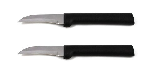 Rada Cutlery Granny Paring Knife, W200/2, Black Handle, Pack of (Black Granny)