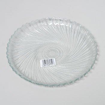PLATE 7.5 IN DESSERT GLASS SEABREEZE LUMINARC *1.99*, Case Pack of 6 (Round Sea Glass Breeze)