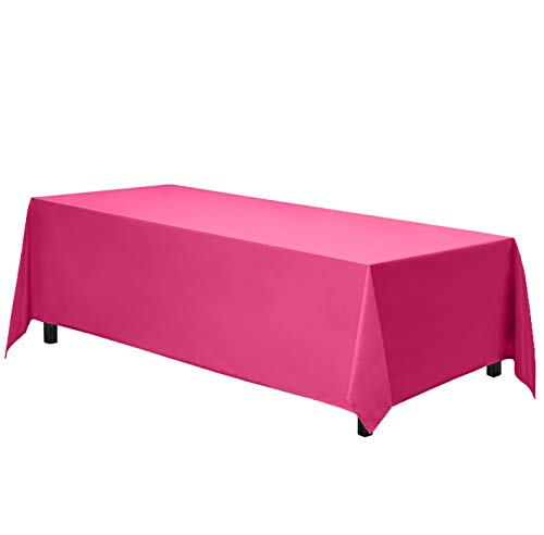 hot pink table cover - 5