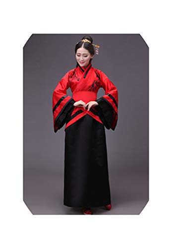 Chinese Traditional Costumes New Year Adult Performance