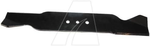 49 cm las cuchillas de picado para tractor cortacésped y longitud rasentraktor [mm]: 490ZB: 10AL: 11, 5AB: 63, 5Ausführung: agujero de la cuchilla mulching - [mm] Ø: pieza según VE: número leading: