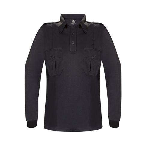 Elbeco Men's Midnight Navy Long Sleeve Ufx Uniform Polo Shirt - K5124-2XL ()
