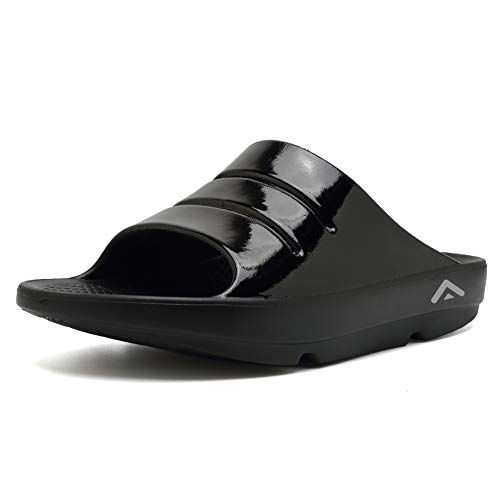 fanture Men & Women's Sandals Arch Support Recovery Slipper Ultra Soft Foot Pain Relief Sport Slide Sandals
