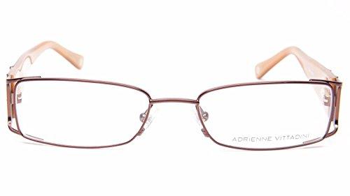 NEW Adrienne Vittadini AV 1078 BRN EYEGLASSES GLASSES FRAME 51-17-135 B26 - Av Glasses