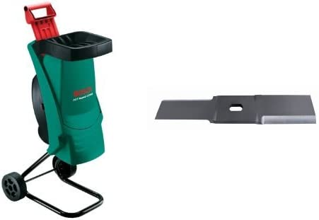 Bosch AXT RAPID 2200 - Biotrituradora, 2200 W + Jardín F016800276 - Cuchilla para AXT 2000/AXT 2200