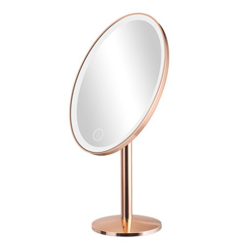 Elgood Lighted Vanity Makeup Mirror with 25 Led Lights Touch Screen 180 -