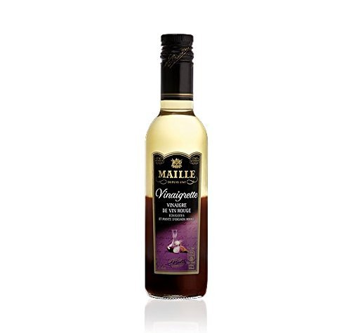 (Maille Red Wine Vinaigrette with Red Onion and Shallot - 12.7 oz)
