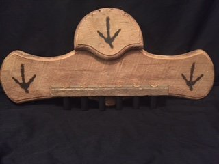 Custom Barnwood Plaques Single Fan Display
