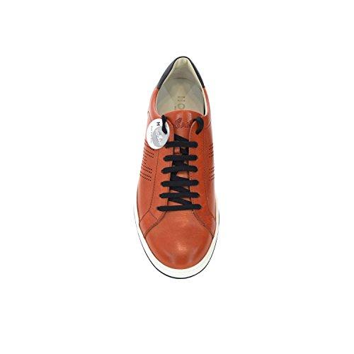 Hogan - Zapatillas de Piel para hombre naranja Arancione