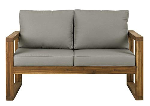 Love Walker (WE Furniture AZWOSLSBR Outdoor Love Seat, 52