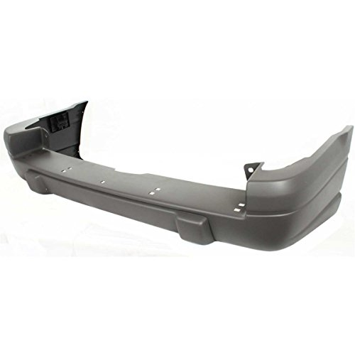 Diften 105-A4434-X01 - New Bumper Cover Facial Rear Raw Jeep Grand Cherokee 98 97 96 CH1100815 5DP65SS5