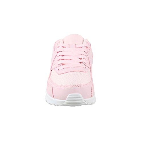 Donna Moda Turnschuhe Uomo Pink Alla Sneaker Da Sport Scarpe Unisex Glitzer Bambini Corsa Paris Chunkyrayan aUqXd