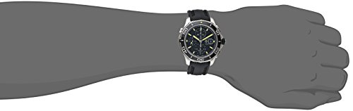 TAG Heuer Men's CAK2111.FT8019 Analog Display Automatic Self Wind Black Watch