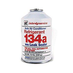 InterDynamics RLS-134 13oz. Refrigerant R134a with Leak Sealer